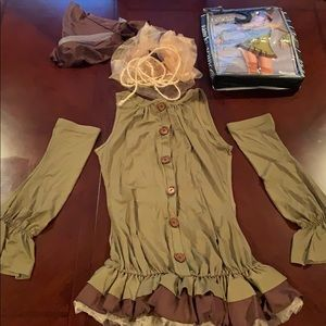 Whimsical Scarecrow Halloween Costume